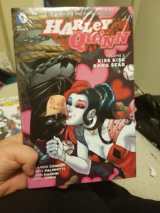 """Full """"the new 52"""" Harley quinn graphic novels collection"""