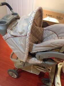 Used stroller set AND other Winter baby items !!