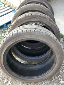4x pneus d'été 205/45R17 88w XL Mirage MR-182
