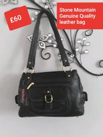 Stone Mountain Quality leather bag
