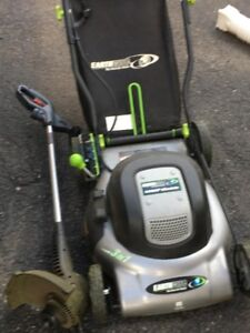 Electric lawn mower EarthWise