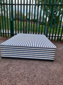 Double bed base (delivery available
