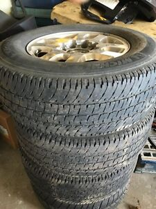 275/70/18 tires on gmc or chevy 8 bolt rims  Kitchener / Waterloo Kitchener Area image 2
