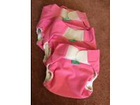 3 Tots Bots swim nappies Sizes 1,2 & 3.
