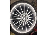 "Mercedes 19"" alloys"