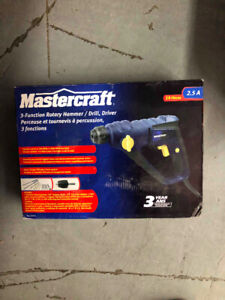 Perceuse Percussion Hammer Drill Mastercraft Neuf