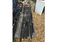 Selection downtide boat rods