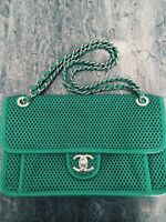 Chanel Up in the Air Mint Green Classic Flap