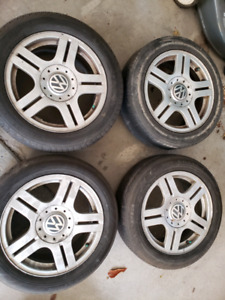 4x Alloy Wheels 16 inch off 2009 VW Jetta