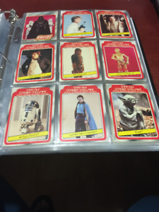 O.P.C  STAR WARS THE EMPIRE STRIKES BACK 1980 series 1 132 cards
