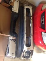2011+ f350 front and rear bumpers oem