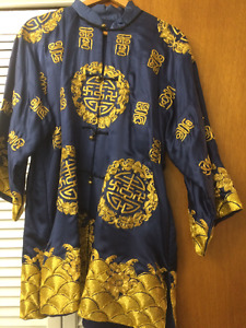 Pure silk jacket/dress from Hong Kong