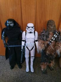 Star Wars 16inch Deluxe Edition Animatronic Interactive Figures x3