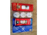 Fine golf balls (various brands)