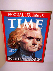 TIME July 4th 1776 Commemorative Issue Bicentennial (Hardcopy)