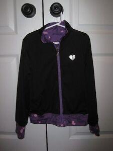 Limeapple reversible yoga jacket size 7/8