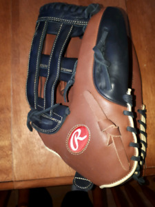 Brand new softball glove