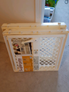 Two North Gate Supergates baby gate pet gate - never used