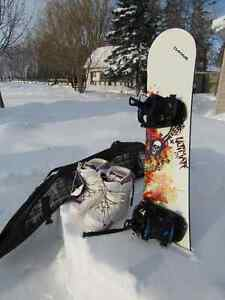 Complete snow board package