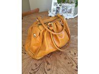 Designer Dimoni Spanish Handmade Leather Handbag
