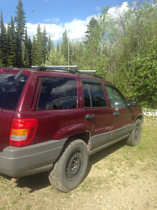2002 Jeep Grand Cherokee SUV, Crossover FOR PARTS
