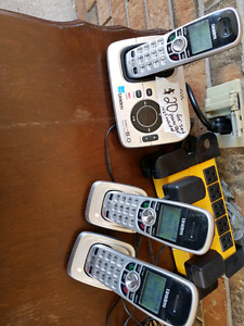 Cordless phone set for sale