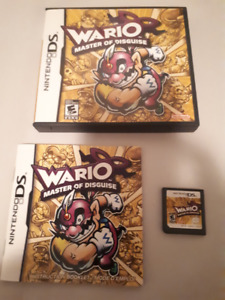 Wario Master of Disguise DS Game