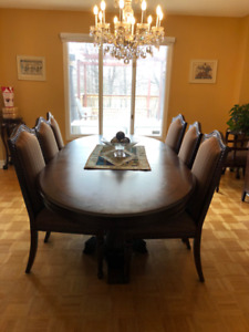 BRAND NEW Bombay Company Wooden Dining Set (6 Chairs and Table)