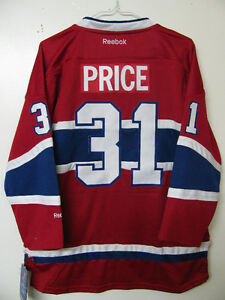 MONTREAL CANADIENS CAREY PRICE HOCKEY JERSEY OFFICIAL L/XL NWT