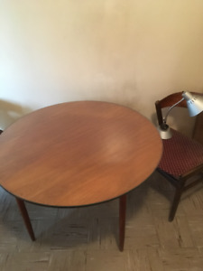 Mid century table & chair set
