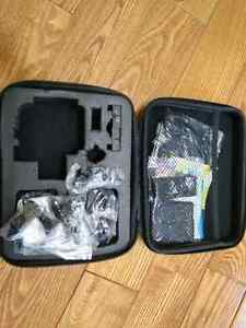 4K Action Camera with carrying case and 3 batteries.  Cambridge Kitchener Area image 4