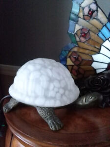 Brass Turtle Accent Lamp #11