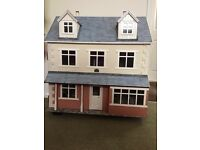 "Traditional dolls house ""Apple Tree Cottage"""