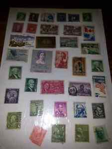 VINTAGE CANADIAN & AMERICAN STAMPS $5.00 FOR ALL Windsor Region Ontario image 1