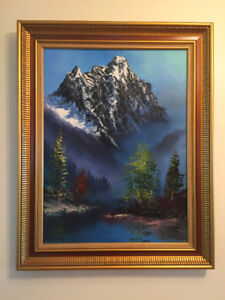 John Greco Oil Painting of the Fraser Valley