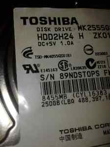 PS3 250GB hard drive Windsor Region Ontario image 2