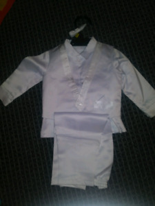 Boys Baptism 3 Piece outfit Size 12 months