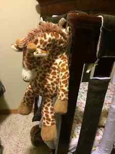 Plush Gentle Giraffe with 4 Sounds