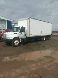 International Cube truck for parts