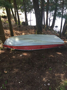 12 foot aluminum boat with 8 hp