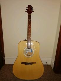Guvnor Electro Acoustic Dreadnought Guitar