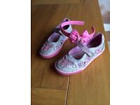 Girls Lelli Kelly shoes with Pink Hairband