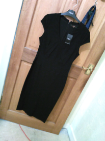2 Long Black Bodycon Dresses from Next Brand new with Tags