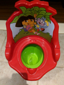 Dora potty and stool 2 in 1