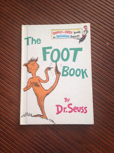 DR SEUSS THE FOOT BOOK West Island Greater Montréal image 1