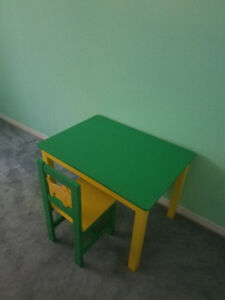 Childrens play table - IKEA solid wood