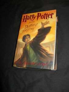 Harry Potter and the Deathly Hallows Hardcover 2007 1st Edition