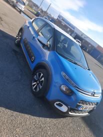 Citroën c3 purtech 1 2 patrol blue