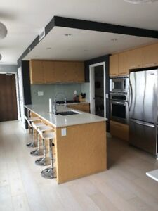 Furnished 1 bedroom in False Creek area with views of 4th and En