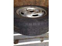 Ford transit wheels and tyre x2